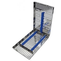 15-53 Лоток для хранения и стерилизации инструментов, 280x183x32 мм на 16 инструментов