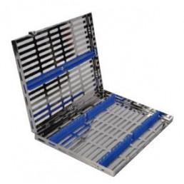 15-54 Лоток для хранения и стерилизации инструментов, 280x205x32 мм на 20 инструментов