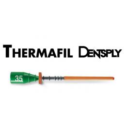 Термафил 25 мм №35 (30 шт/уп) Обтураторы гуттаперчевые, Dentsply (Termafil)