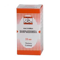 Боярышника настойка (25 мл) Флора Кавказа