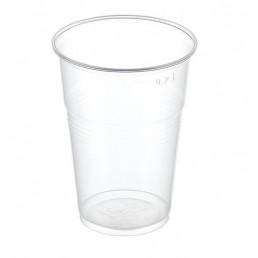 Стакан пластиковый Прозрачный 200мл (100шт/уп) НАПРА