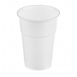 Стакан пластиковый Белый 200мл (100шт/уп) НАПРА