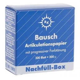 ВК1001 (катридж) арт бумага БАУШ Bausch (200мк, 300шт синяя)