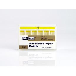 Штифты бумажные DiaDent 02 №20 (200шт)