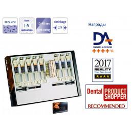 Амарис набор (8шпр*4гр) O1,O2,O3,O4,O5,TL,TN,TD Флоу:HT,HO - Высокоэстетичный светоотверждаемый пломбировочный материал VOCO (Amaris)