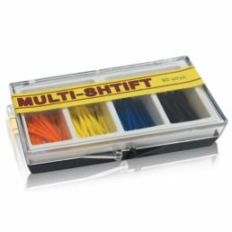 Мульти Штифт ассорти 4 цвета (80шт) -  беззольные штифты