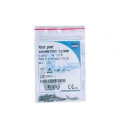 Юниметрик 108S белые (25 шт/уп) Титановые штифты, Dentsply