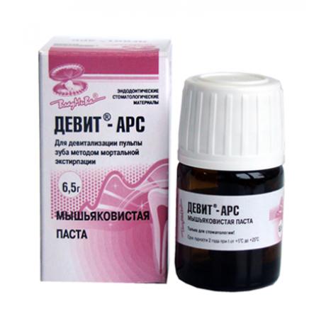 Девит-Арс (6,5г)-мышьяк. паста, на 1-2 дня Владмива