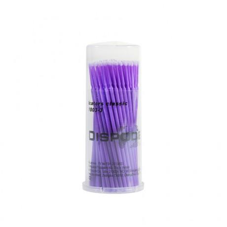 Аппликаторы СуперФайн Дисподент фиолет-маленькие  (100шт)