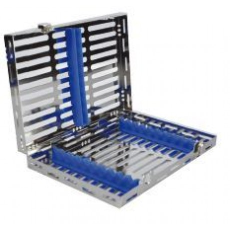 15-52 Лоток для хранения и стерилизации инструментов, 205x145x34 мм на 10 инструментов