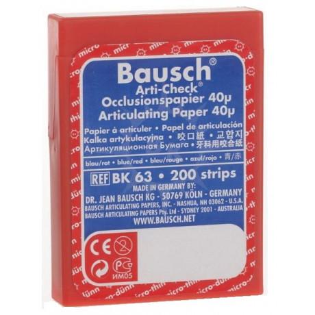 Копирка бумага BAUSH 40мик. BK63 прямая красно/синяя (200листов)