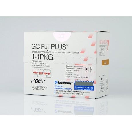 Фуджи Плюс НАБОР (15 г порошка, 7 мл жидкости, 6.5 мл дентин-кондиционер) GC